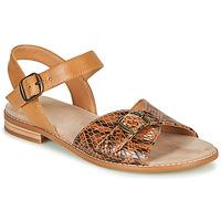 Scarpe Donna Sandali Karston XABERO Camel / Python
