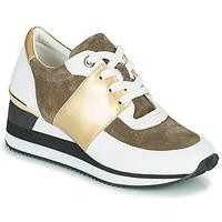 Scarpe Donna Sneakers basse Karston SILMON Bianco / Oro