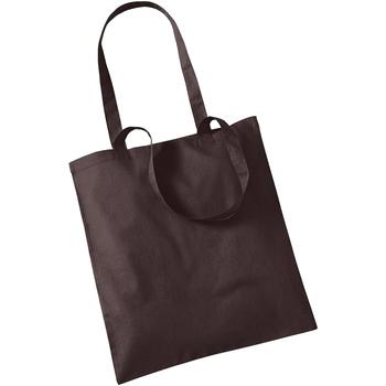 Borse Tote bag / Borsa shopping Westford Mill W101 Cioccolato