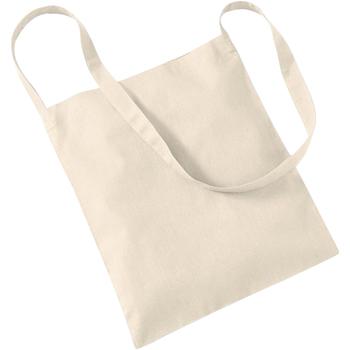 Borse Tote bag / Borsa shopping Westford Mill W107 Naturale