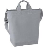 Borse Donna Tote bag / Borsa shopping Bagbase BG673 Grigio chiaro