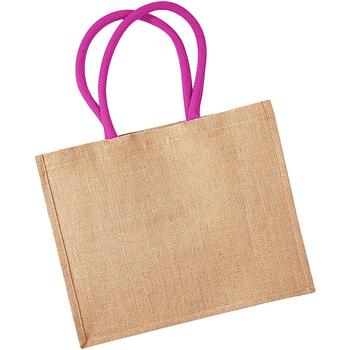 Borse Donna Tote bag / Borsa shopping Westford Mill W407 Naturale/Fucsia