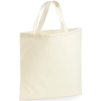 Borse Tote bag / Borsa shopping Westford Mill W101S Naturale