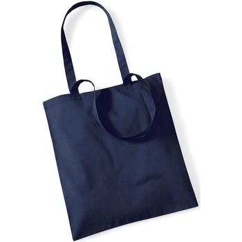 Borse Tote bag / Borsa shopping Westford Mill W101 Blu scuro