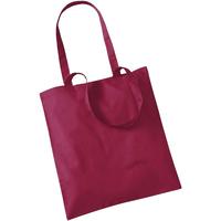 Borse Tote bag / Borsa shopping Westford Mill W101 Mirtillo rosso