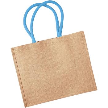 Borse Tote bag / Borsa shopping Westford Mill W407 Naturale/Azzurro