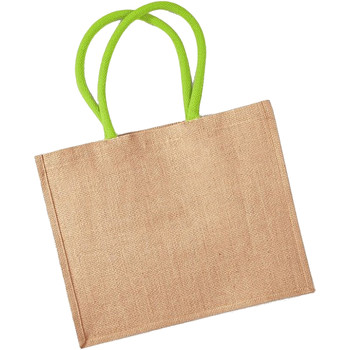 Borse Tote bag / Borsa shopping Westford Mill W407 Naturale/Lime