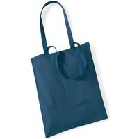 Borse Tote bag / Borsa shopping Westford Mill W101 Petrolio