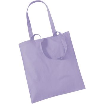 Borse Tote bag / Borsa shopping Westford Mill W101 Lavanda