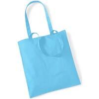 Borse Tote bag / Borsa shopping Westford Mill W101 Azzurro mare