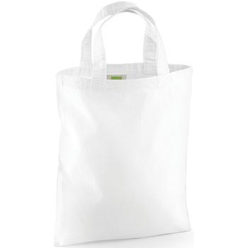 Borse Tote bag / Borsa shopping Westford Mill W104 Bianco