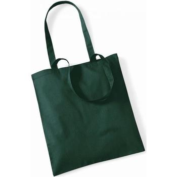 Borse Tote bag / Borsa shopping Westford Mill W101 Verde bottiglia