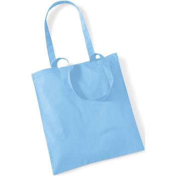 Borse Tote bag / Borsa shopping Westford Mill W101 Azzurro cielo