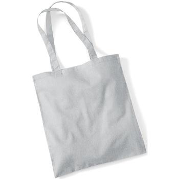Borse Tote bag / Borsa shopping Westford Mill W101 Grigio Chiaro