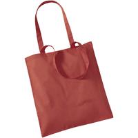 Borse Tote bag / Borsa shopping Westford Mill W101 Arancione Ruggine