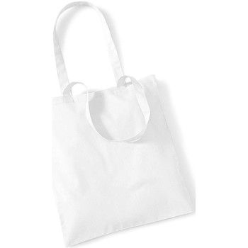 Borse Tote bag / Borsa shopping Westford Mill W101 Bianco