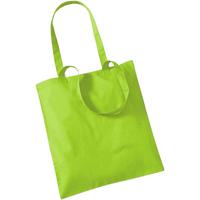Borse Tote bag / Borsa shopping Westford Mill W101 Verde lime
