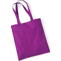 Borse Tote bag / Borsa shopping Westford Mill W101 Magenta