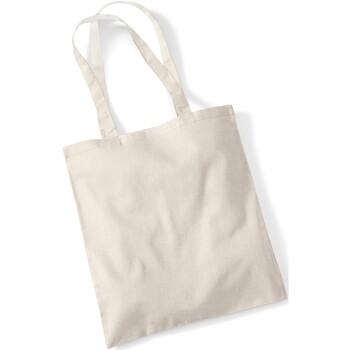 Borse Tote bag / Borsa shopping Westford Mill W101 Sabbia