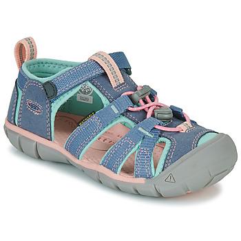 Scarpe Bambina Sandali sport Keen SEACAMP II CNX Grigio / Rosa