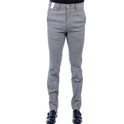 Abbigliamento Uomo Pantaloni 5 tasche Re-hash P249 0803 L8-6710 Pantalone Uomo Uomo Grigio Grigio