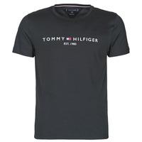 Abbigliamento Uomo T-shirt maniche corte Tommy Hilfiger CORE TOMMY LOGO Nero