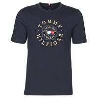 Abbigliamento Uomo T-shirt maniche corte Tommy Hilfiger ICON COIN TEE Marine