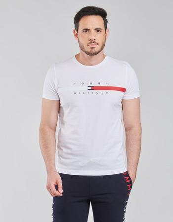 Tommy Hilfiger GLOBAL STRIPE CHEST TEE