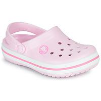Scarpe Bambina Zoccoli Crocs CROCBAND CLOG K Rosa