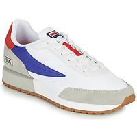 Scarpe Uomo Sneakers basse Fila RETRONIQUE Bianco / Blu / Rosso