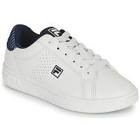 Scarpe Bambino Sneakers basse Fila CROSSCOURT 2 NT KIDS Bianco / Blu