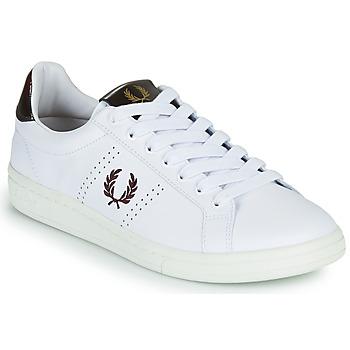Scarpe Uomo Sneakers basse Fred Perry B721 Bianco
