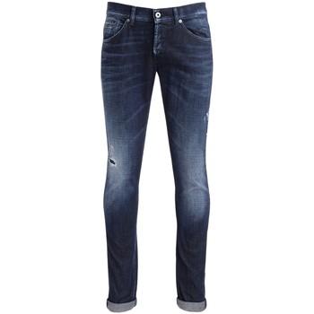Abbigliamento Pantaloni Dondup Jeans George blu con micro rotture Blu