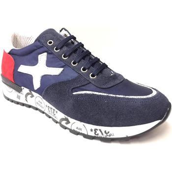 Scarpe Uomo Sneakers basse Alberto D'aragona ATRMPN-22687 Blu