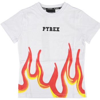 Abbigliamento Bambino T-shirt maniche corte Pyrex T-SHIRT JERSEY BOYS Bianco