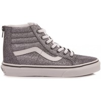 Scarpe Bambina Sneakers alte Vans Sneakers Bambina SK8 Hi Zip VN0A4BUX0M01 glitter peltro