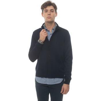 Abbigliamento Uomo Gilet / Cardigan Fay NMMC2412010-SHL0355 Blu/grigio