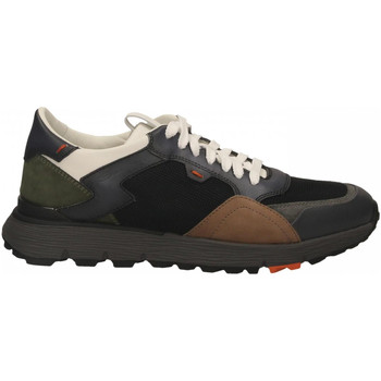 Scarpe Uomo Sneakers basse Santoni REED-WSNN40 antracite-nero