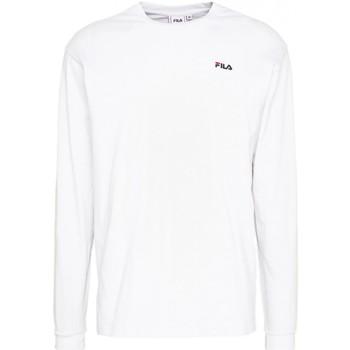 Abbigliamento Uomo T-shirts a maniche lunghe Fila Maglia  MEN EITAN long sleeve shirt 687606 Uomo bianco Bianco