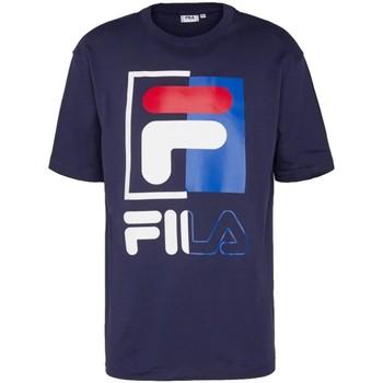 Abbigliamento Uomo T-shirt maniche corte Fila T shirt  MEN SAKU tee 687475 Uomo blu Blu