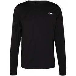 Abbigliamento Uomo T-shirts a maniche lunghe Fila Maglia  MEN EITAN long sleeve shirt 687606 Uomo nero Nero