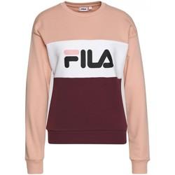 Abbigliamento Donna T-shirt maniche corte Fila Felpa  WOMEN LEAH crew sweat 687043 rosa, bianco, bordeaux Rosso