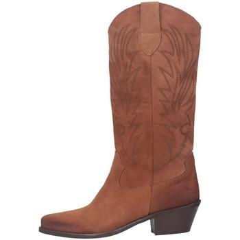 Scarpe Donna Stivali Marylu B150C-2021 Texano Donna MARRONE MARRONE
