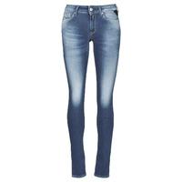 Abbigliamento Donna Jeans skynny Replay HYPERFLEX LUZ Blu / Moyen