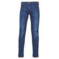 Abbigliamento Uomo Jeans slim Replay ANBASS Pants Blu / Moyen