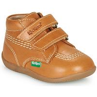 Scarpe Bambino Sneakers alte Kickers BILLY VELK-2 Camel