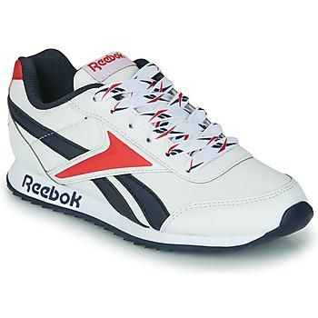 Scarpe Unisex bambino Sneakers basse Reebok Classic REEBOK ROYAL CLJOG 2 Bianco / Marine / Rosso