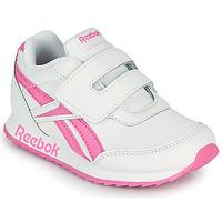 Scarpe Bambina Sneakers basse Reebok Classic REEBOK ROYAL CLJOG 2 KC Bianco / Rosa