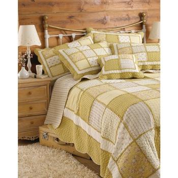 Casa Completo letto Riva Home 265 x 265 cm Giallo