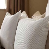 Casa Federa cuscino, testata Belledorm BM283 Bianco